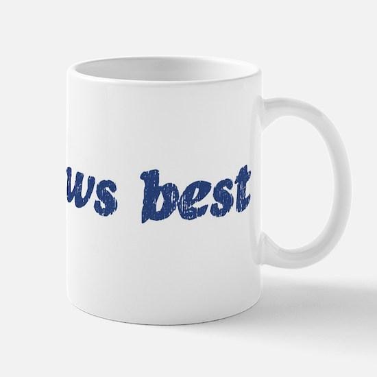 Joe knows best Mug