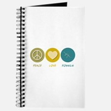 Peace Love Fossils Journal