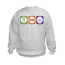 Eat Sleep Grammar Sweatshirt