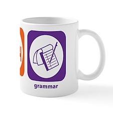 Eat Sleep Grammar Mug