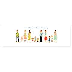 Bumper Sticker (50 pk) - Family Logo