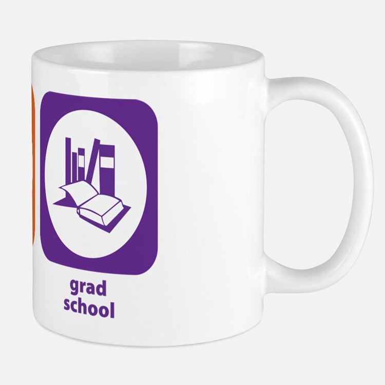 Eat Sleep Grad School Small Small Mug