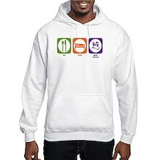 Eat Sleep Grad School Hoodie Sweatshirt