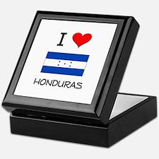I Love Honduras Keepsake Box