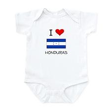 I Love Honduras Infant Bodysuit