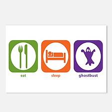 Eat Sleep Ghostbust Postcards (Package of 8)