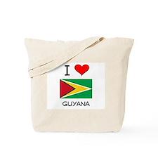 I Love Guyana Tote Bag
