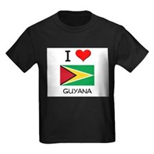 I Love Guyana T