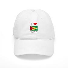 I Love Guyana Baseball Cap