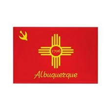 ALBUQUERQUE-FLAG Rectangle Magnet