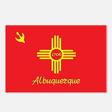 ALBUQUERQUE-FLAG Postcards (Package of 8)