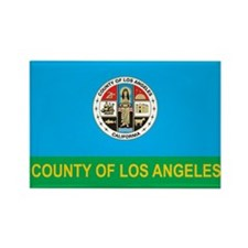 LOS-ANGELES-COUNTY-FLAG Rectangle Magnet