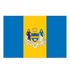 PHILADELPHIA-FLAG Postcards (Package of 8)