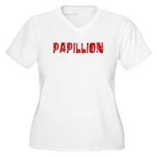 Papillion Faded (Red) T-Shirt