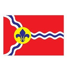 ST-LOUIS-FLAG Postcards (Package of 8)