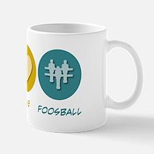 Peace Love Foosball Mug