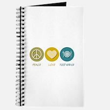 Peace Love Food Service Journal