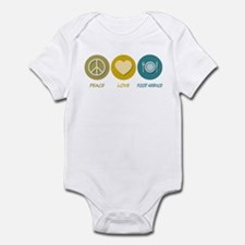 Peace Love Food Service Infant Bodysuit
