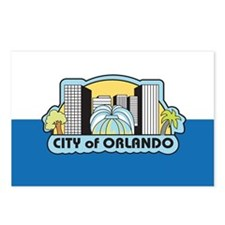 ORLANDO-FLAG Postcards (Package of 8)