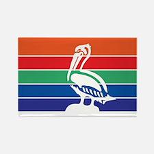 ST-PETERSBURG-FLAG Rectangle Magnet