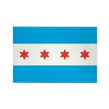 CHICAGO-FLAG Rectangle Magnet