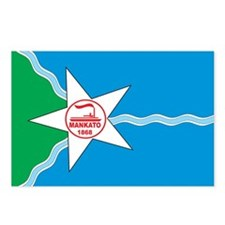 MANKATO-FLAG Postcards (Package of 8)