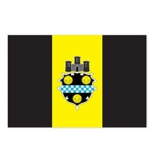 PITTSBURGH-FLAG Postcards (Package of 8)