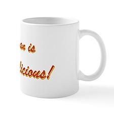 My Man is Bubba licious! Small Mug
