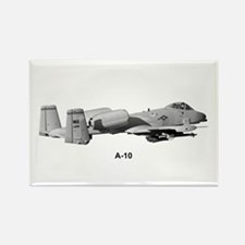 A-10 Thunderbolt II Rectangle Magnet