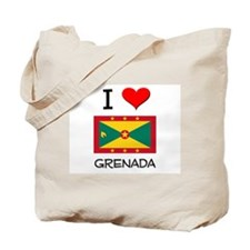 I Love Grenada Tote Bag