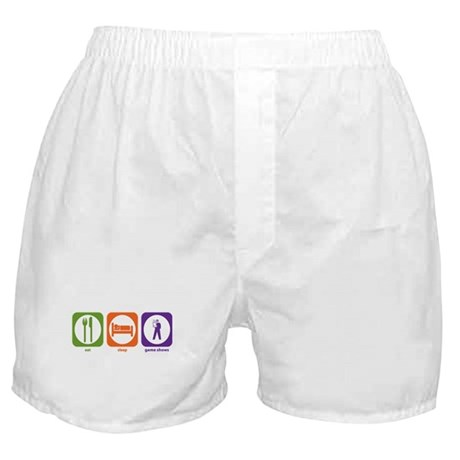Eat Sleep Game Shows Boxer Shorts