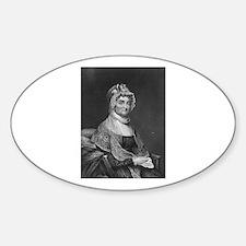 Abigail Adams Oval Decal