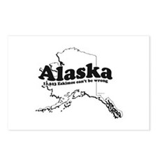 Alaska - 11,623 Eskimos can't be wrong ~  Postcard