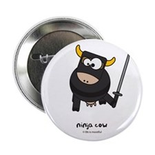 "ninja cow 2.25"" Button"