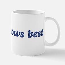 Joana knows best Mug