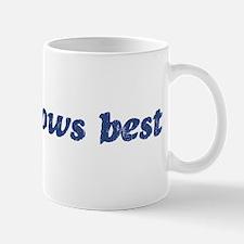Alice knows best Mug