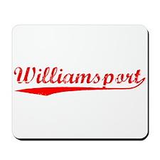 Vintage Williamsport (Red) Mousepad