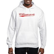 Vintage Williamsport (Red) Hoodie