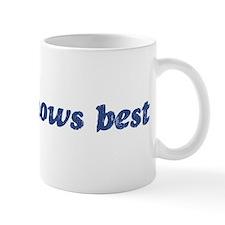 Jenna knows best Mug