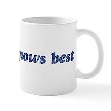 Charlize knows best Mug