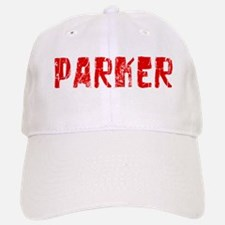 Parker Faded (Red) Baseball Baseball Cap