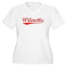 Vintage Wilmette (Red) T-Shirt