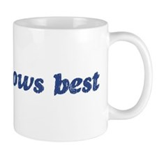 Cesar knows best Small Small Mug