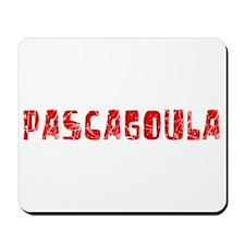 Pascagoula Faded (Red) Mousepad