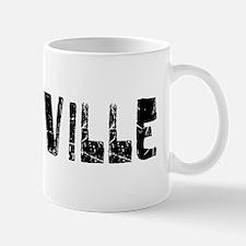 Vacaville Faded (Black) Mug