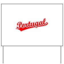 Retro Portugal (Red) Yard Sign