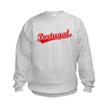 Retro Portugal (Red) Sweatshirt
