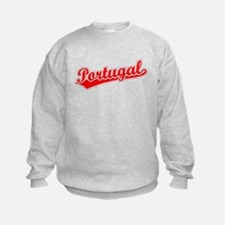 Retro Portugal (Red) Sweatshirt