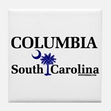 Columbia South Carolina Tile Coaster