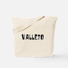 Vallejo Faded (Black) Tote Bag
